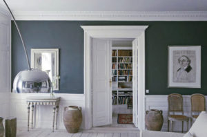 Sztukateria wewnętrzna, dekory, salon